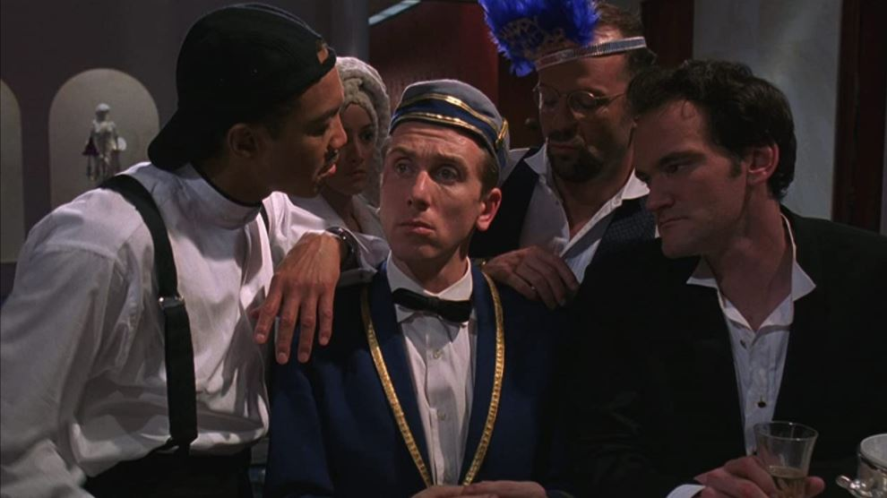 Four Rooms Man in Hollywood